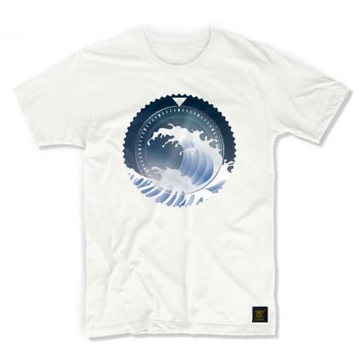 uchi horology series - SEIKO SKX Mod B T shirt - grey