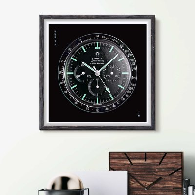 OMEGA Speedmaster wall art - uchi horology series