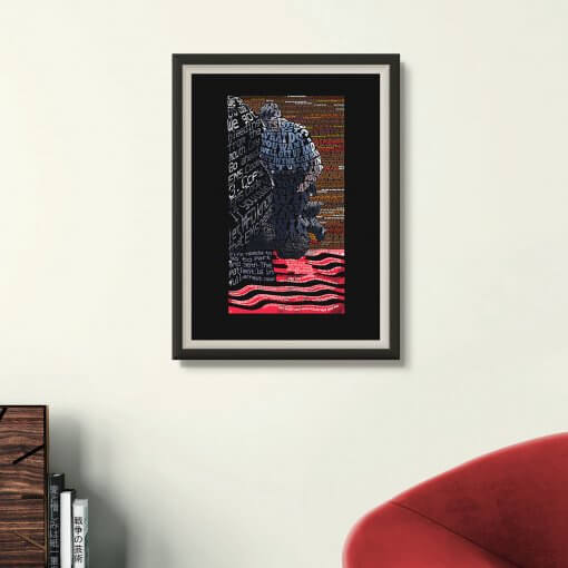 8:46 (Justice for George Floyd Art print )