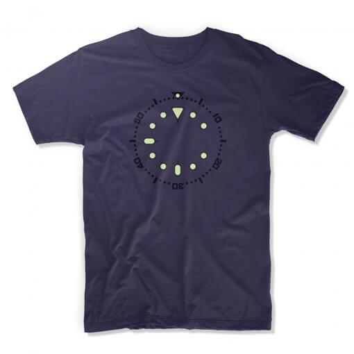 uchi horology series - SEIKO SKX009 lume T shirt