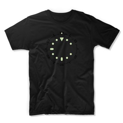 uchi horology series - SEIKO SKX007 lume T shirt