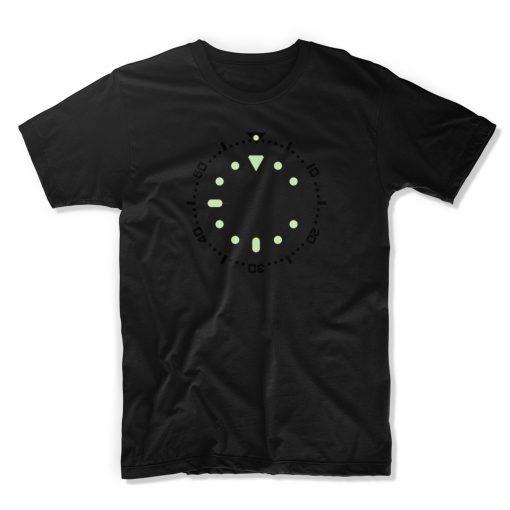 uchi horology series - SEIKO SKX007 lume T shirt