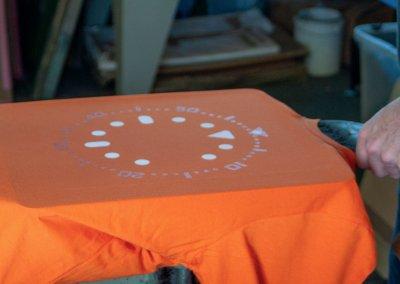 Screen printing Seiko SKX011 - Horology art T shirt