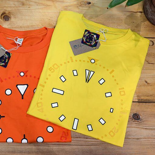Seiko SKXA35 lume T shirt - horology art T shirt