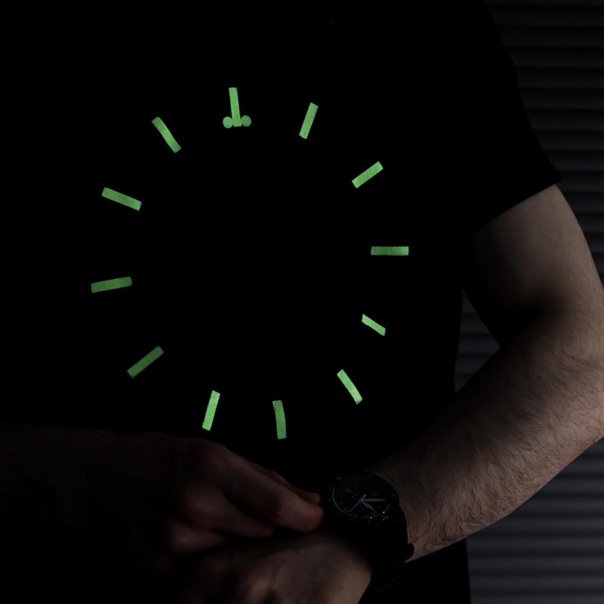 OMEGA Speedmaster Lume T shirt - Image Credit: WatchGecko Online Magazine