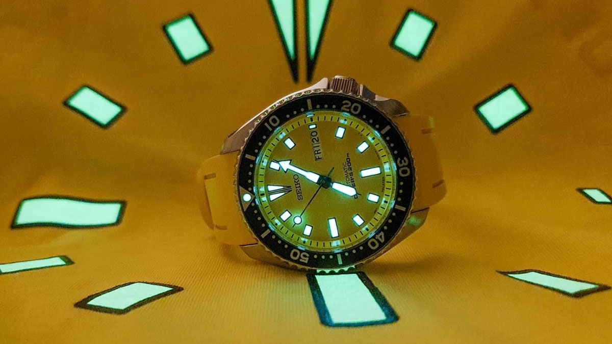Seiko SKXA35 Dive Watch - Image credit: @seiko_ronin