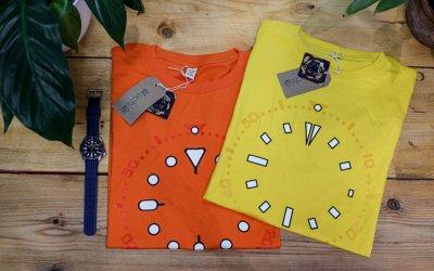T-shirt Horology Art & Screen printing the Seiko SKX Lume Tees