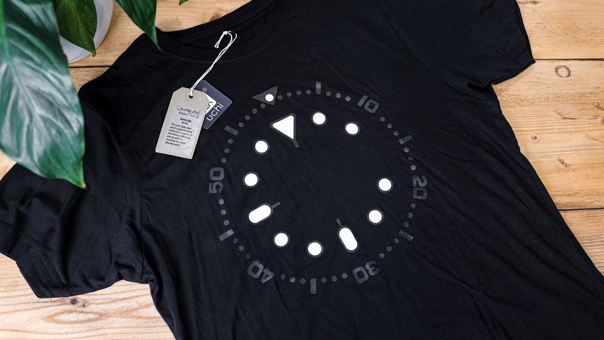 SKX lume T shirts - Image credit: WatchGecko Online Magazine