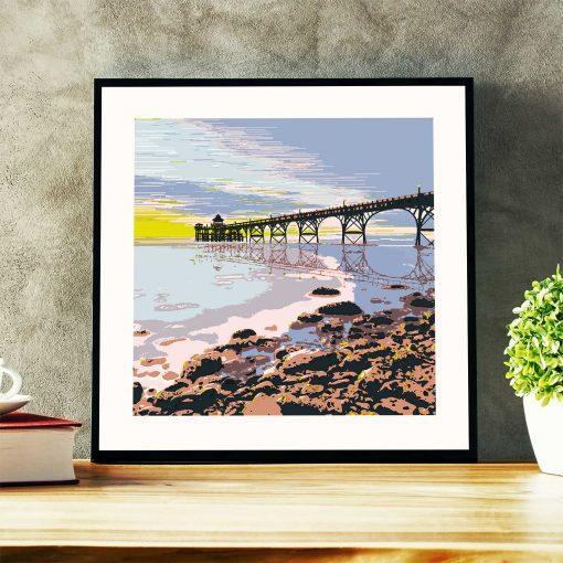 Clevedon Pier wall print