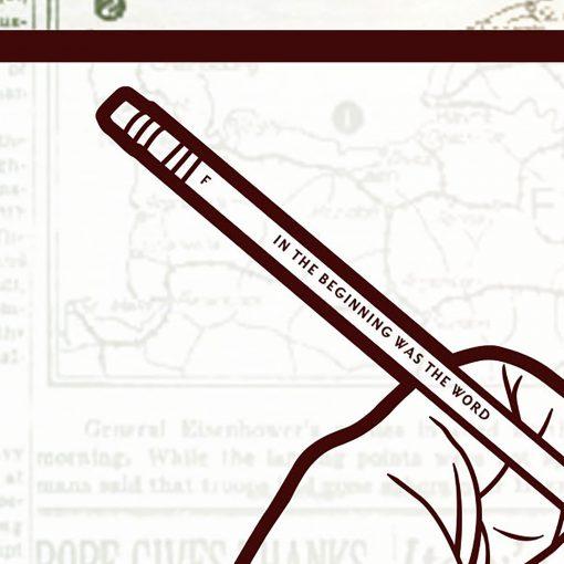 Weapons of Mass Instruction art print detail