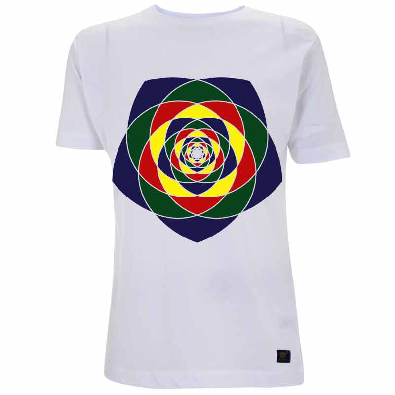 Chaos mens white T shirt