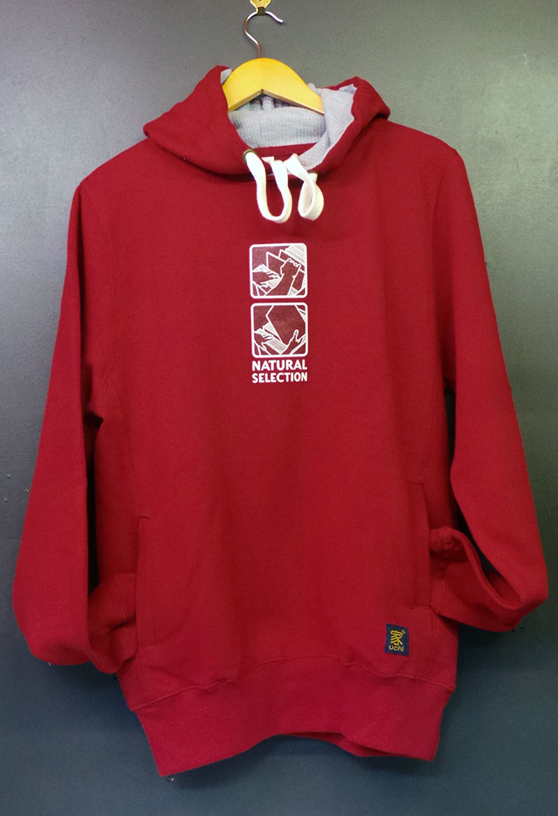 uchi Natural Selection Men's Red Hoodie