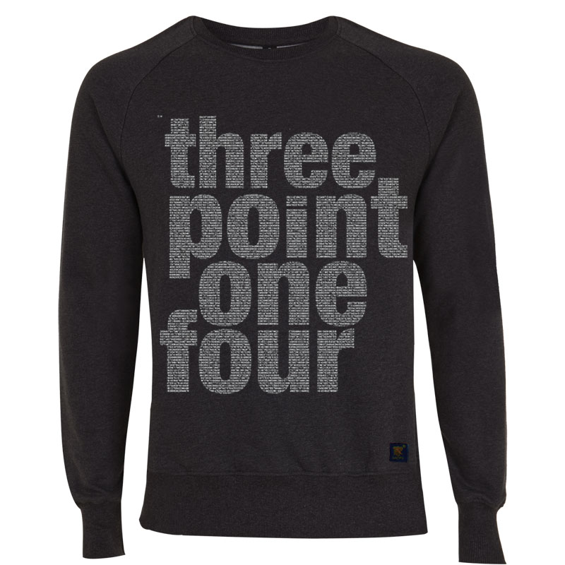 Pi squared dark grey sweatshirt